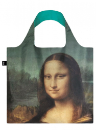 Nákupná taška LOQI Museum, Da Vinci - Mona Lisa