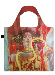 Nákupná taška LOQI Museum, Klimt - Hygieia