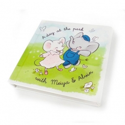 Meiya&Alvin obrázková knižka - 12 x 12 cm