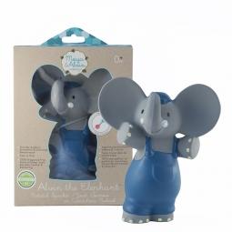 Pískatko/hryzátko (100% prírodný kaučuk) - sloník Alvin