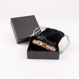 Náramok na ruku - Zebrawood s krabičkou
