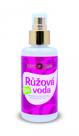 PURITY VISION Ružová voda Bio 100ml
