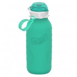 Squeasy Gear silikónová fľaša 480ml - Aqua
