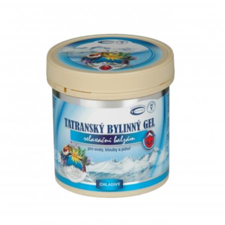Tatranský gél chladivý 250 ml