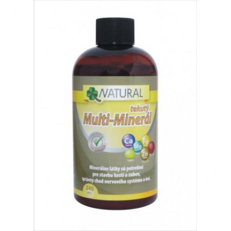 Tekutý Multiminerál, 240 ml