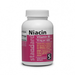 Vitamín B3 Niacín 10 mg, 180 tabliet