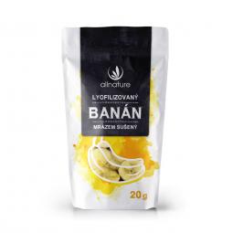 Banán sušený mrazom plátky 20 g
