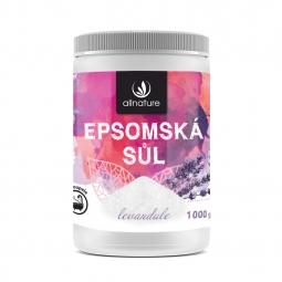 Epsomská soľ Levanduľa 1000 g