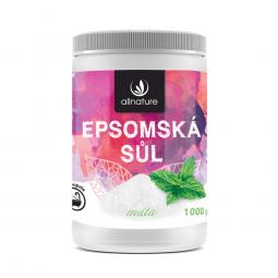 Epsomská soľ Mäta 1000 g
