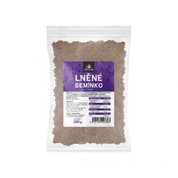 Allnature Ľanové semienko hnedé 200 g