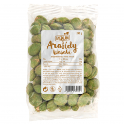 Arašidy wasabi 250 g Medium