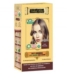 100% Rastlinná, 100% Organická farba na vlasy Popolavá Blond