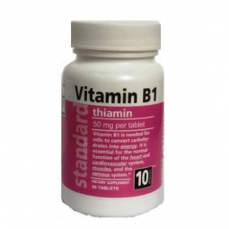 Vitamin B1 50 mg 60 tabliet