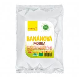 Banánová múka BIO 400 g Wolfberry *