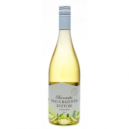 Bazovinka víno s bazovým kvetom 0,75 l