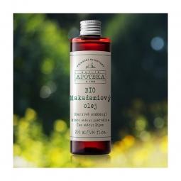 BIO Makadamiový olej 200 ml