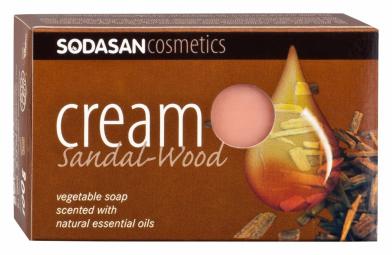 BIO pleťové mydlo Cream Santalové drevo