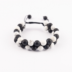 Náramok - Black and White