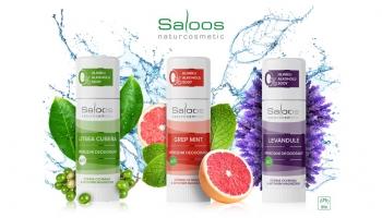 Saloos novinka: Zamatovo hebké Bio deodoranty bez sódy