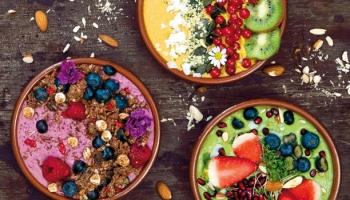 Lahodné, zdravé i krásne – smoothie bowls