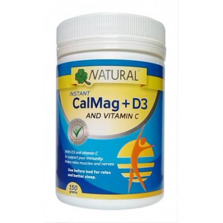 CalMag+C+D3 práškový, 150 gramov