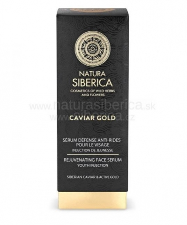 Caviar Gold - Omladzujúce sérum na tvár Injekcia mladosti 30ml