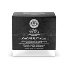 Caviar platinum - Kolagénová maska na tvár a krk 50ml