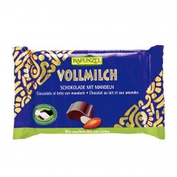 Čokoláda mliečna s mandľami BIO 100 g Rapunzel *