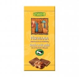 Čokoláda Nirwana mliečna BIO 100 g Rapunzel *