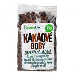 Kakaové bôby nepražené drvené BIO 100 g