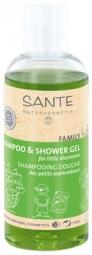 Detský sprchový gél a šampón BIO aloe - 200ml