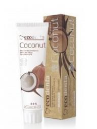 Zubná pasta proti zubnému povlaku s kokosovým olejom a zinkovou soľou