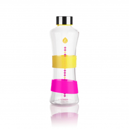Fľaša EQUA CMYK Squeeze Yellow, 550 ml