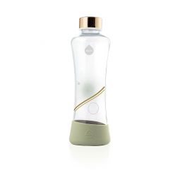 Fľaša EQUA METALLIC Gold, 550 ml