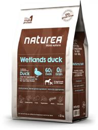 Krmivo pre psov Naturea Wetlands Duck, 2kg
