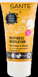 HAPPINESS telové mlieko BIO pomaranč a mango