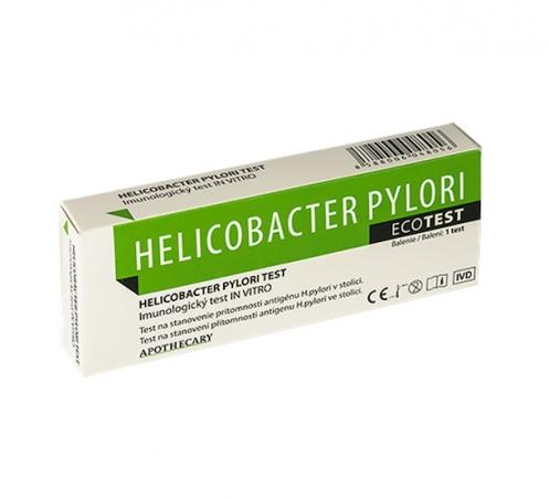 ECOTEST Helikobakter pylori test, diagnostický test zo stolice