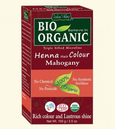 Henna farba na vlasy Mahagónová