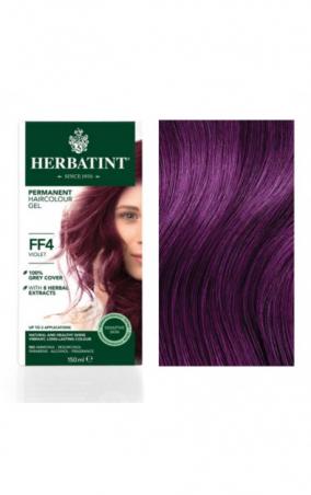 HERBATINT permanentná farba na vlasy fialová FF4