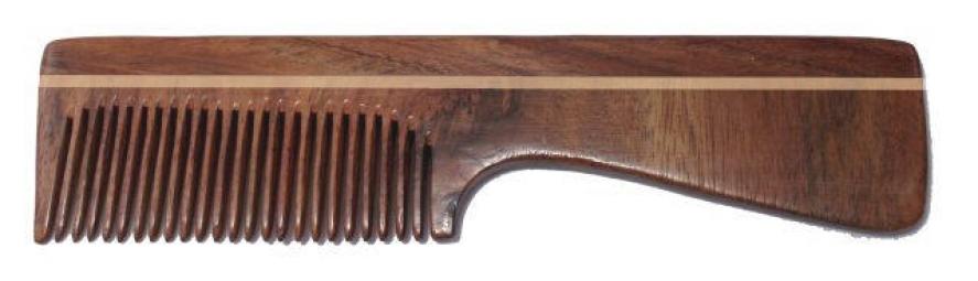 Hrebeň palisander – s rukoväťou