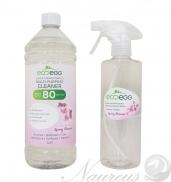 Ecoegg vysoko koncentrovaný ekologický antibakteriálny čistič s vôňou jarných kvetov