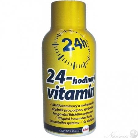 24-hodinový vitamín, 60 ml
