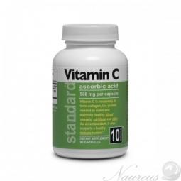 Vitamín C 500 mg, 90 kapsúl