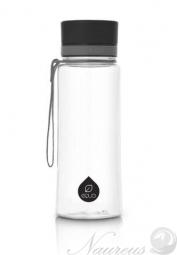 Fľaša EQUA Plain Black, 600 ml