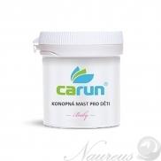 Konopná masť BABY pre deti 105 ml Carun