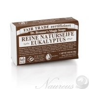 Dr. Bronner's, Eukalyptus, Tuhé mydlo, 140 g