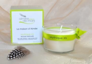 Sójová sviečka Mythique Iris 140 g