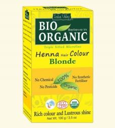 Henna farba na vlasy Blond