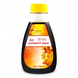 Javorový sirup BIO 540 g / 400 ml Wolfberry *