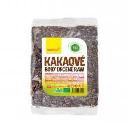 Kakaové bôby drvené BIO 250 g Wolfberry *